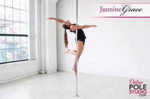 Jasmine Grace Online Pole Studio Postpartum Pole Progress